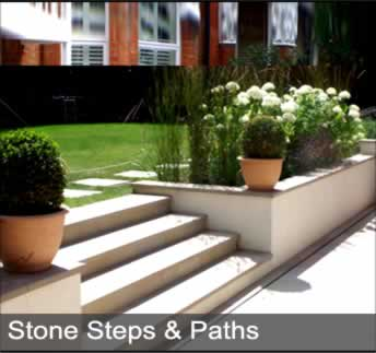 image of stone steps and paths