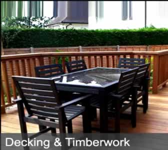 decking and timberwork image